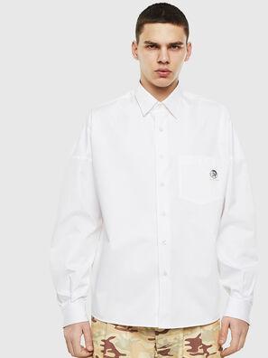 S-LOOMY, Bianco - Camicie