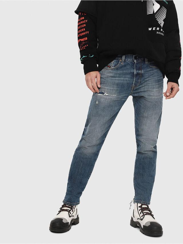 Diesel - Mharky 080AH, Blu medio - Jeans - Image 1