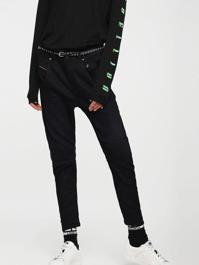 Diesel - Fayza JoggJeans 0829P, Blu Scuro - Jeans - Image 1