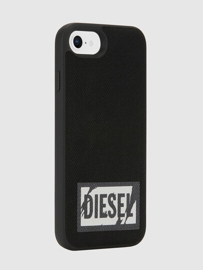 Diesel - BLACK DENIM IPHONE 8/7/6S/6 CASE, Nero - Cover - Image 5