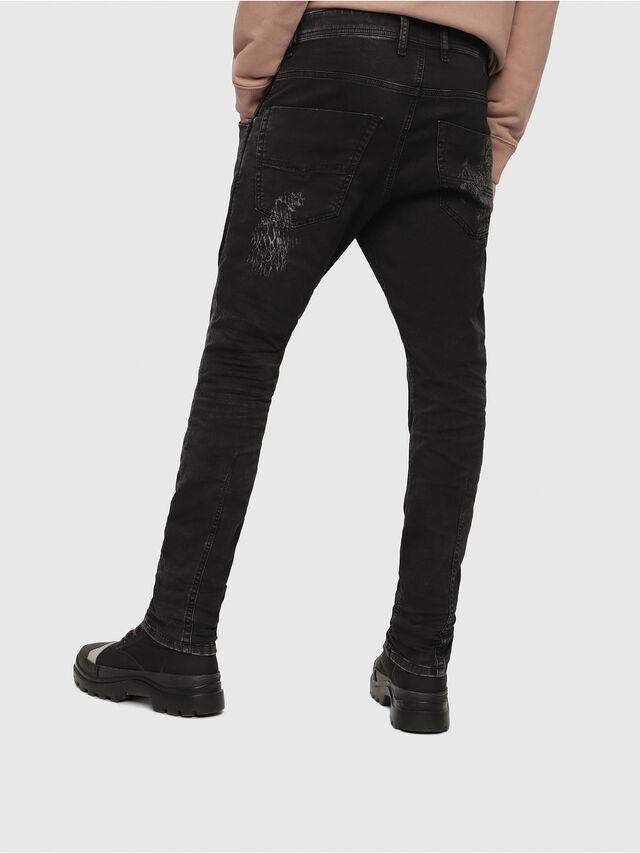 Diesel - Krooley JoggJeans 069DT, Nero/Grigio scuro - Jeans - Image 2