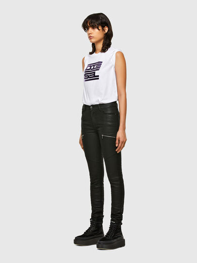 Diesel - T-SILY-K5, Bianco - T-Shirts - Image 4