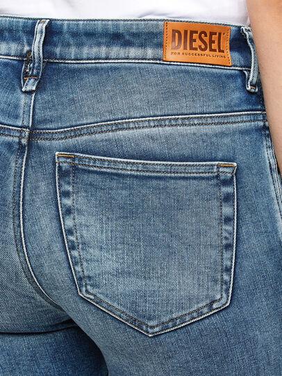 Diesel - Slandy High 009PT, Blu Chiaro - Jeans - Image 3