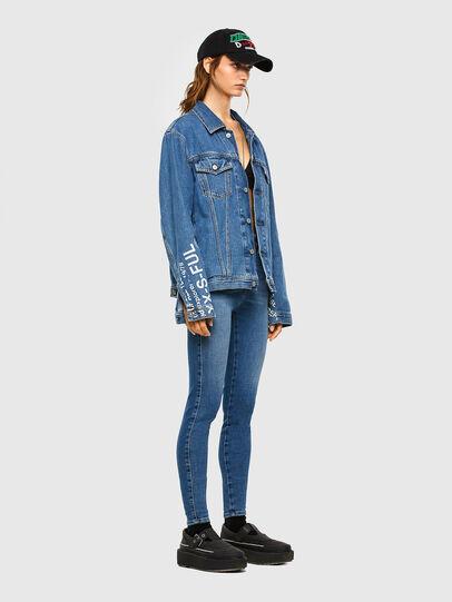 Diesel - Slandy High 009AG, Blu medio - Jeans - Image 5