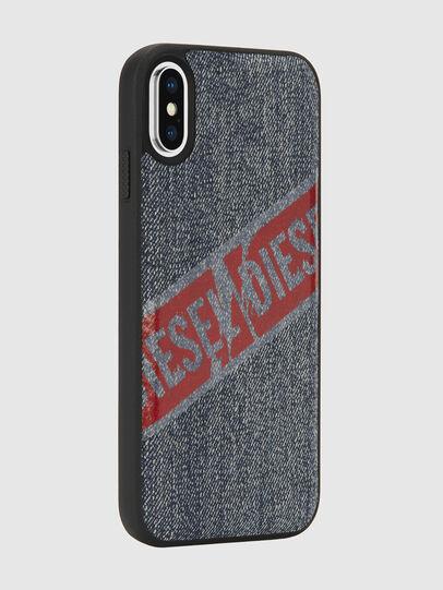 Diesel - VINTAGE DENIM IPHONE X CASE, Blu Jeans - Cover - Image 6