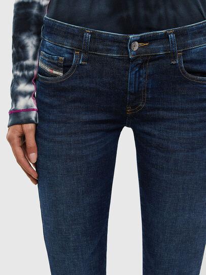 Diesel - Slandy Low 069PX, Blu Scuro - Jeans - Image 4