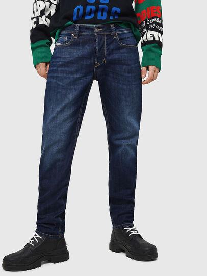 Diesel - Larkee-Beex 082AY, Blu Scuro - Jeans - Image 1