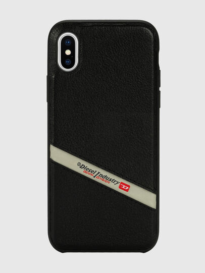 Diesel - DIESEL LEATHER CO-MOLD CASE FOR IPHONE XS MAX,  - Cover - Image 2