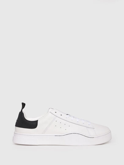 Diesel - S-CLEVER LOW, Bianco/Nero - Sneakers - Image 1