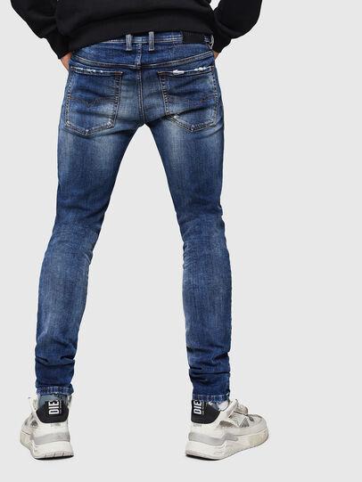 Diesel - Sleenker 069HQ, Blu medio - Jeans - Image 2