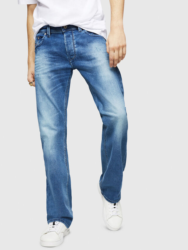 Diesel - Larkee C84NV, Blu Chiaro - Jeans - Image 1