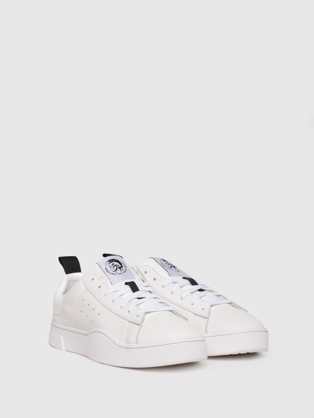 Diesel - S-CLEVER LOW, Bianco - Sneakers - Image 2