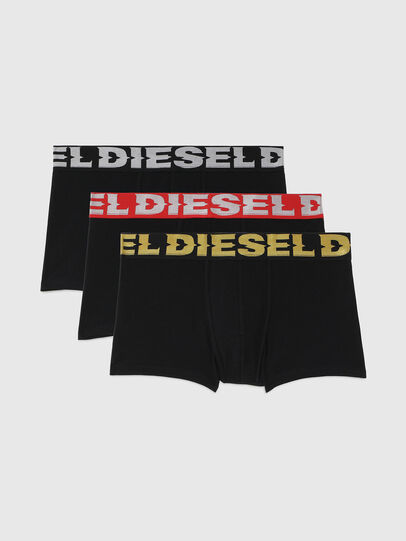Diesel - UMBX-DAMIENTHREEPACK, Nero - Boxer - Image 1