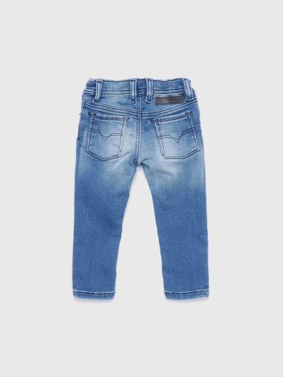 Diesel - SLEENKER-B JOGGJEANS-N, Blu Chiaro - Jeans - Image 2