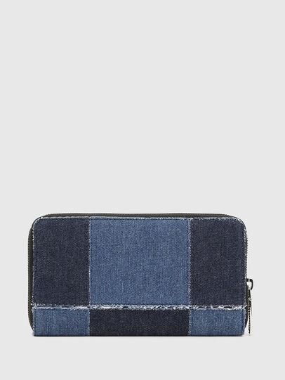 Diesel - GRANATO LC, Blu Jeans - Portafogli Con Zip - Image 2