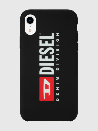 Diesel - DIESEL PRINTED CO-MOLD CASE FOR IPHONE XR, Nero/Bianco - Cover - Image 4