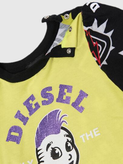 Diesel - TULLAB, Nero/Giallo - T-shirts e Tops - Image 2