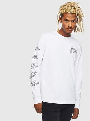 T-DIEGO-LS-J1, Bianco - T-Shirts