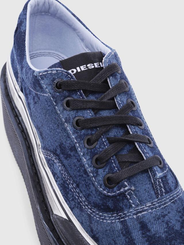 Diesel - H-SCIROCCO LOW, Blu - Sneakers - Image 4
