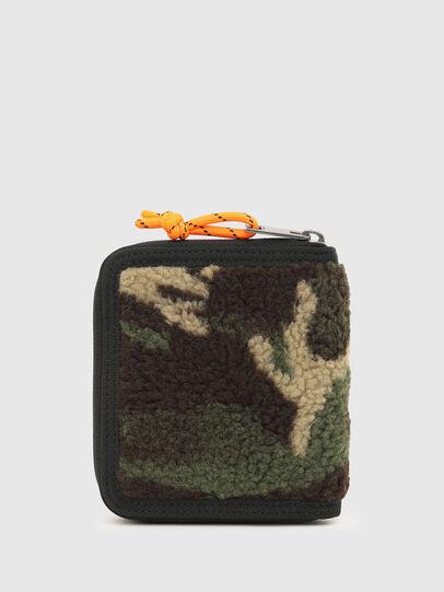 Diesel - PI-ZIP, Verde Camo - Portafogli Con Zip - Image 2