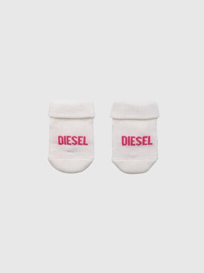 Diesel - ZEBET-NB, Bianco/Rosa - Altri Accessori - Image 1