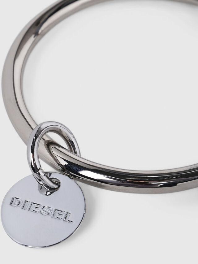 Diesel - CL-METAL BANGLE, Argento - Bijoux e Gadget - Image 3