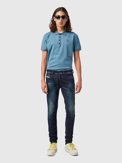 Diesel - Sleenker 09B07, Blu Scuro - Jeans - Image 4