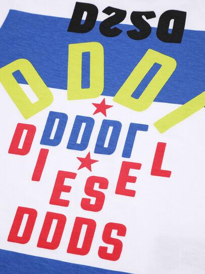 Diesel - TOLIB, Bianco/Blu - T-shirts e Tops - Image 3