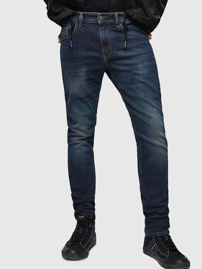 Diesel - Thommer 084AU, Blu Scuro - Jeans - Image 1
