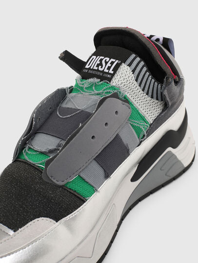 Diesel - S-BRENTHA DEC, Grigio - Sneakers - Image 5