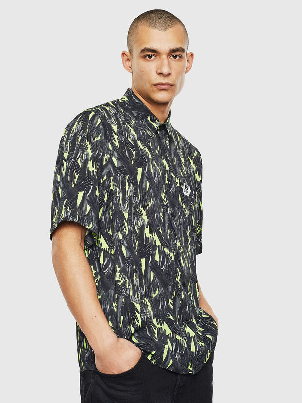 S-ATWOOD-GLOVY, Verde - Camicie