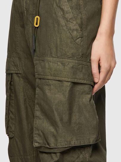 Diesel - P-EMMA, Verde Militare - Pantaloni - Image 4