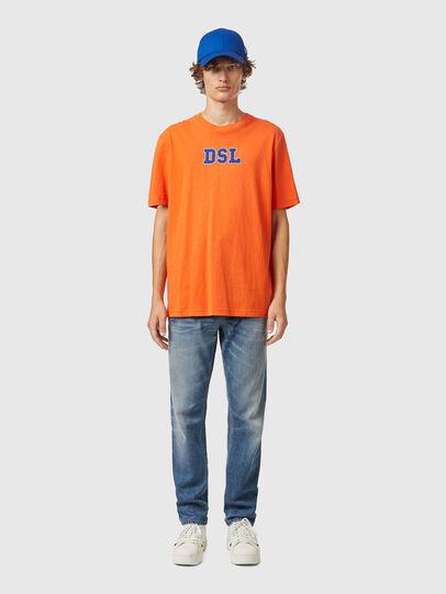 Diesel - T-JUST-B85, Arancione - T-Shirts - Image 4