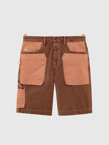Shorts stile utility in JoggJeans® patchwork