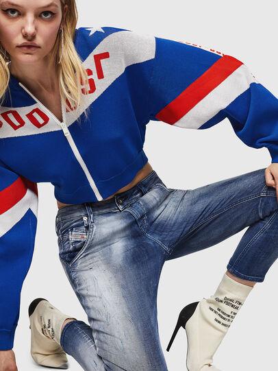 Diesel - Fayza JoggJeans 0870N, Blu medio - Jeans - Image 3