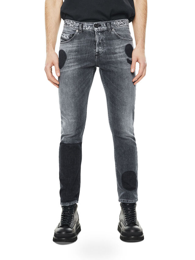 Diesel - TYPE-2813, Nero/Grigio - Jeans - Image 1