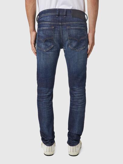 Diesel - Sleenker 09A85, Blu Scuro - Jeans - Image 2