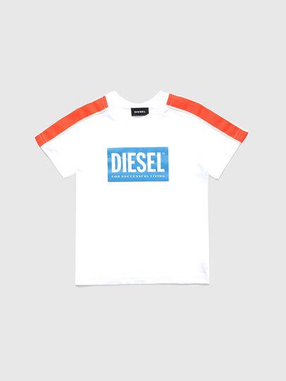 Diesel - TANGEB-R, Bianco - T-shirts e Tops - Image 1