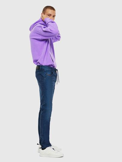 Diesel - Krooley JoggJeans 0098H, Blu medio - Jeans - Image 4