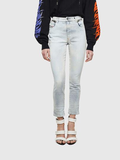 Diesel - Babhila High 009AX, Blu Chiaro - Jeans - Image 1