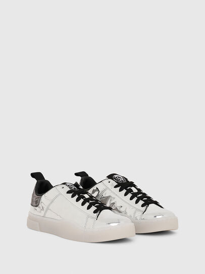 Diesel - S-CLEVER LOW LACE W, Argento - Sneakers - Image 2