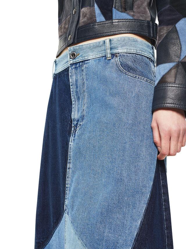 Diesel - ODETTE, Blu Jeans - Gonne - Image 4