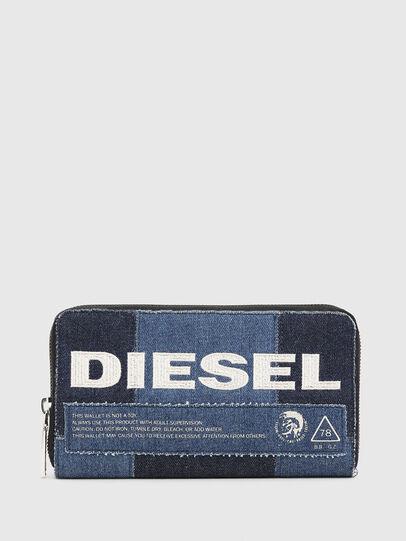 Diesel - GRANATO LC, Blu Jeans - Portafogli Con Zip - Image 1