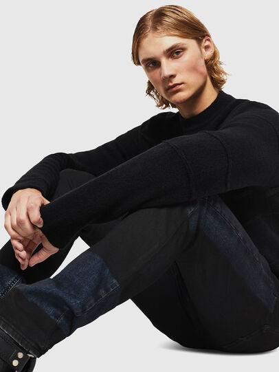 Diesel - TYPE-2813FS-NE, Blu Scuro - Jeans - Image 4