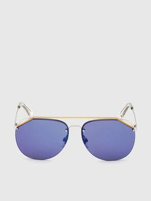 DL0314, Bianco/Blu - Occhiali da sole