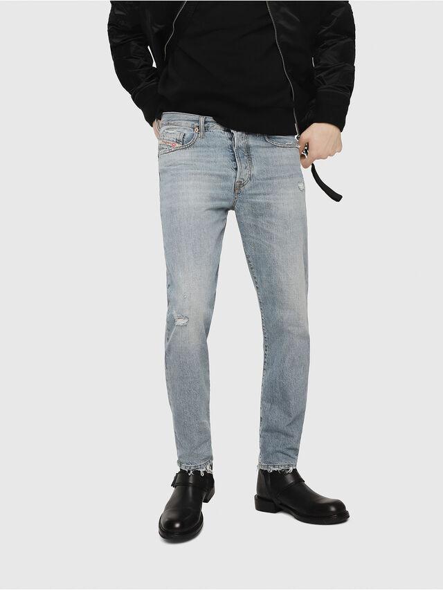Diesel - Mharky 080AF, Blu Chiaro - Jeans - Image 1