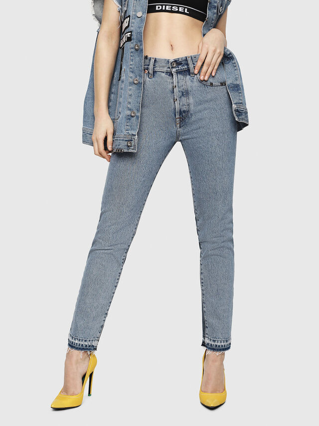 Diesel - Mharky 0077Z, Blu medio - Jeans - Image 7