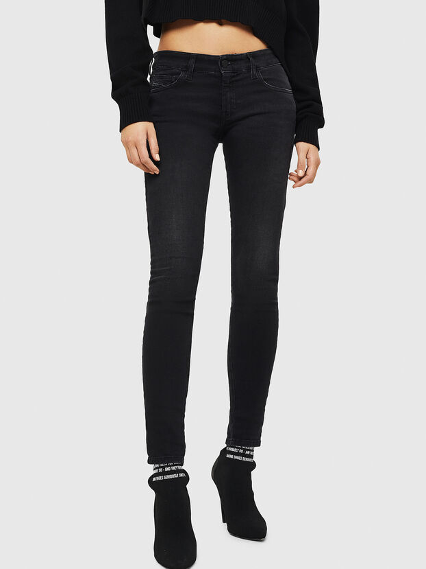 Slandy Low 069GG, Nero/Grigio scuro - Jeans