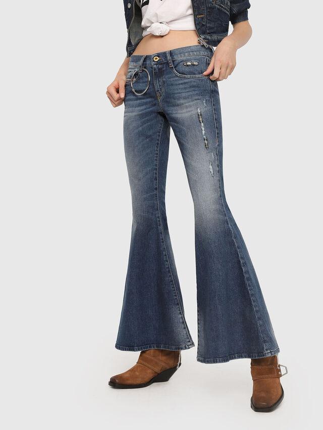 Diesel - D-Ferenz 081AN, Blu medio - Jeans - Image 1