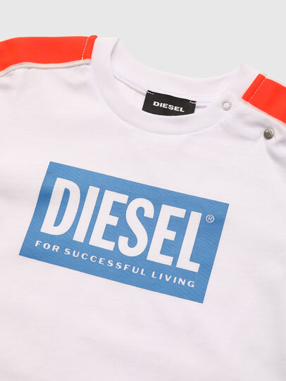 Diesel - TANGEB, Bianco - T-shirts e Tops - Image 3